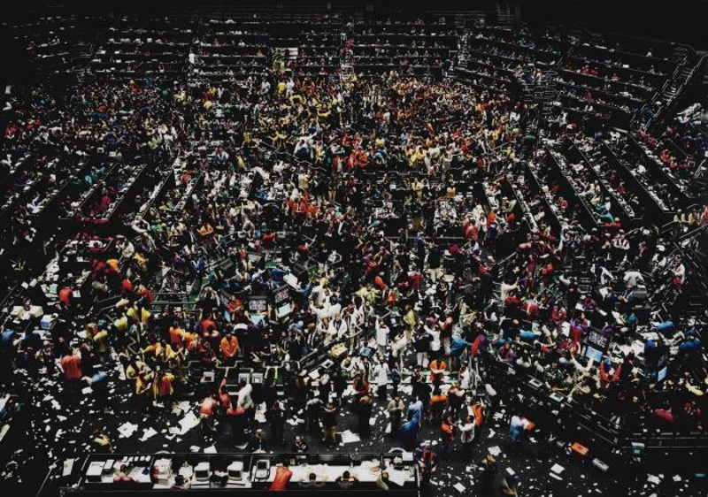 Andreas Gursky-Chicago Board of Trade III-2009