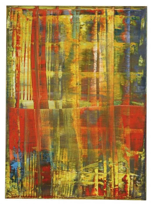 Gerhard Richter-Abstraktes Bild 762-4 (Abstract Painting 762-4)-1992