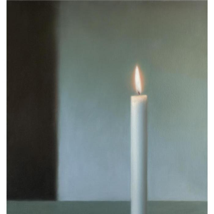 Gerhard Richter-Kerze-1983
