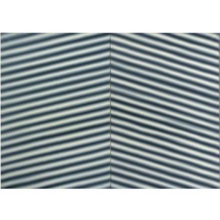 Gerhard Richter-Corrugated Iron-1967