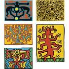 Keith Haring-Keith Haring - Growing (LITTMANN P. 89-91)-1988