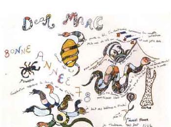 Niki de Saint Phalle-Bonne annee 78-1978