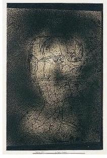 Paul Klee-Alter Mann (Old Man)-1924