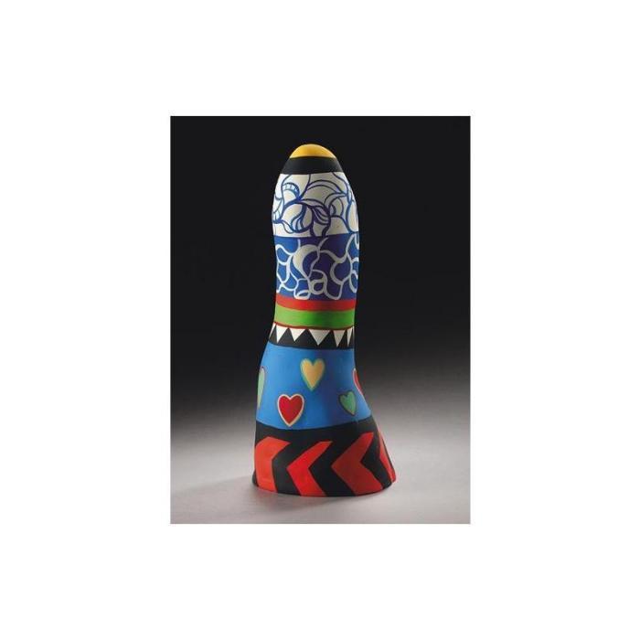 Niki de Saint Phalle-Obelisque, (Obelisque aux coeurs)-