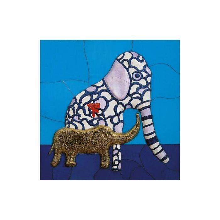 Niki de Saint Phalle-Elephants-1988
