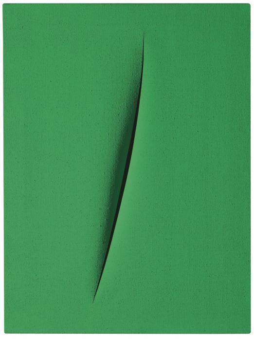 Lucio Fontana-Concetto Spaziale, Attesa-1963