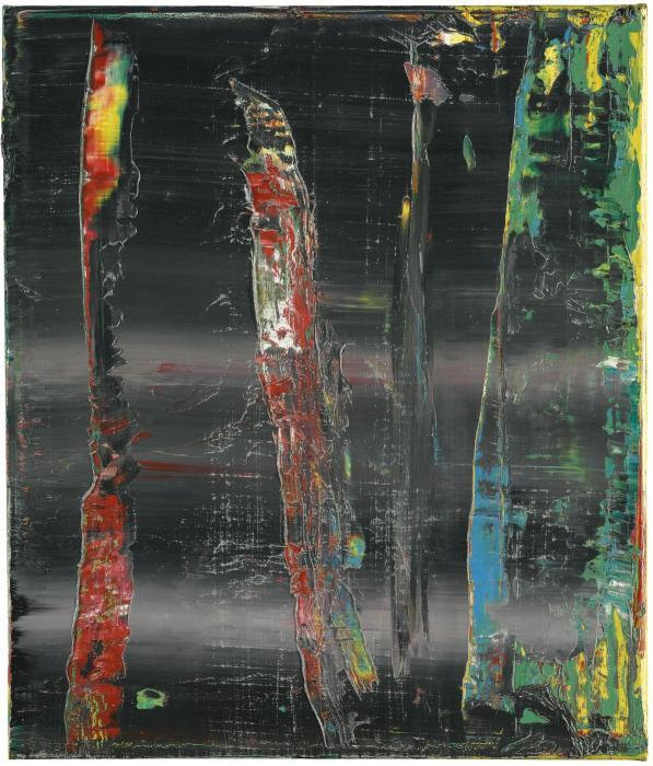 Gerhard Richter-Abstraktes Bild 716-17 (Abstract Painting 716-17)-1990