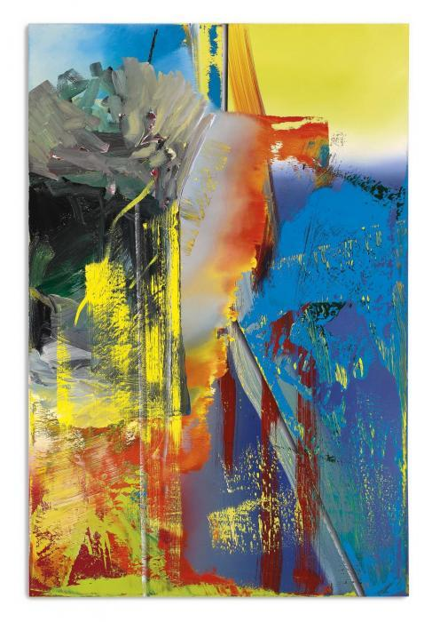 Gerhard Richter-Abstraktes Bild 593-9 (Abstract Painting 593-9)-1986
