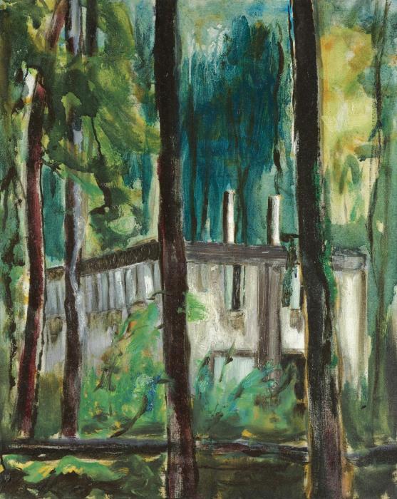 Peter Doig-Boiler House-1993