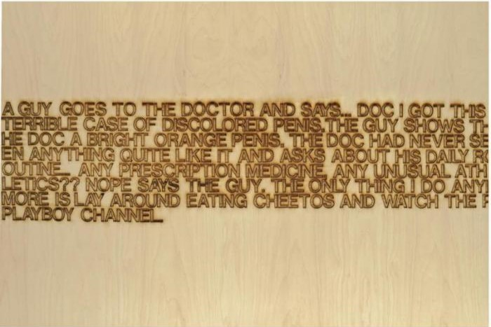 Richard Prince-A Guy Goes To The Doctor-2006
