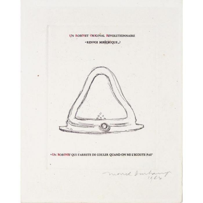 Marcel Duchamp-Mirrorical Return (Un robinet original revolutionnaire) (Schwarz 370)-1964