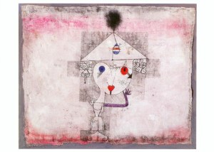 Paul Klee-Modebild (Fashion Picture)-1922