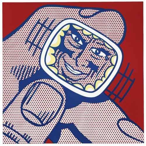 Roy Lichtenstein-Eccentric Scientist-1964