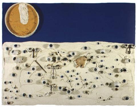 Niki de Saint Phalle-Le Regard bleu-1961