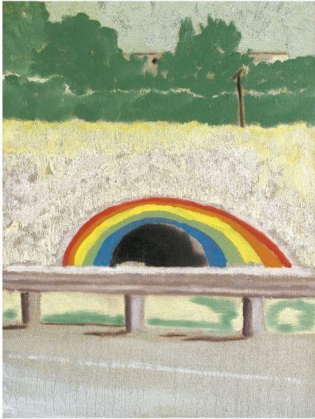 Peter Doig-Tunnel Passing (Country-rock)-2000