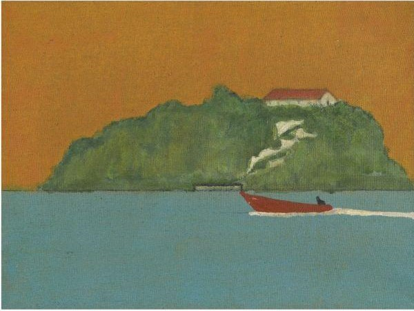 Peter Doig-Island Painting-2000