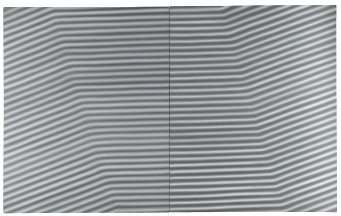 Gerhard Richter-Wellblech (Corrugated Iron)-1967