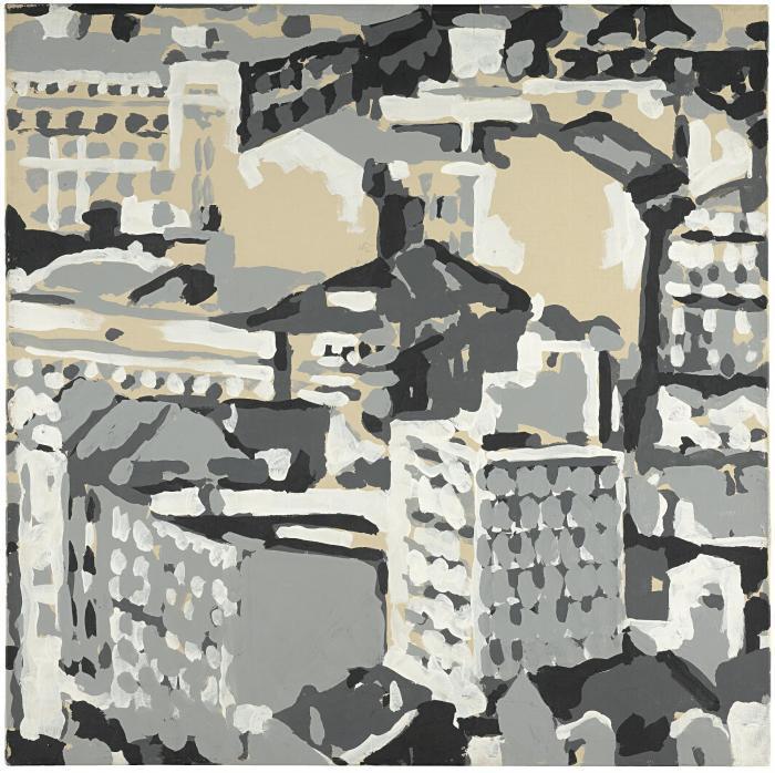 Gerhard Richter-Stadtbild (Townscape)-1969