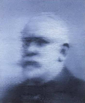 Gerhard Richter-Alter Mann (Old Man)-1971