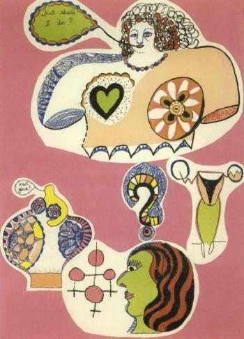 Niki de Saint Phalle-What shall I do-1970