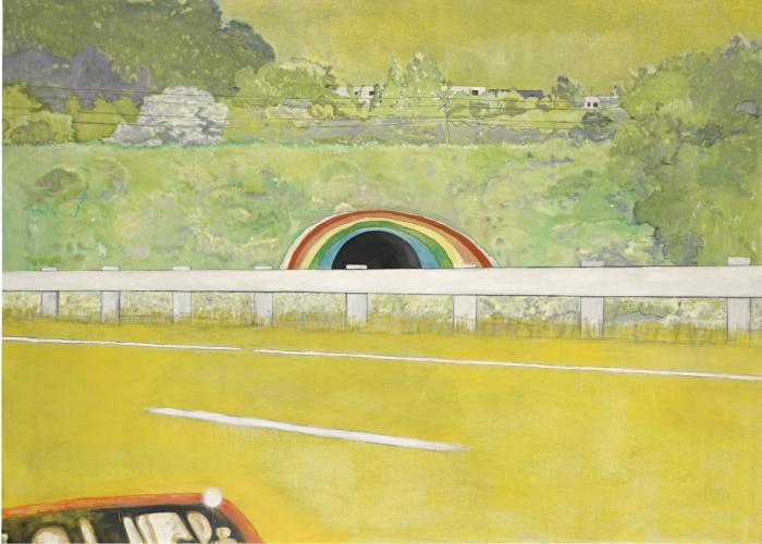 Peter Doig-Country-Rock (Wing-Mirror)-1999