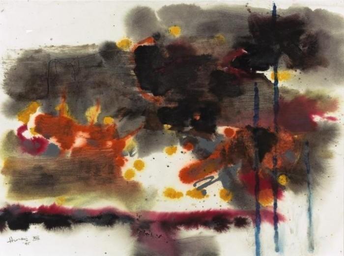 Maqbool Fida Husain-Untitled-1995