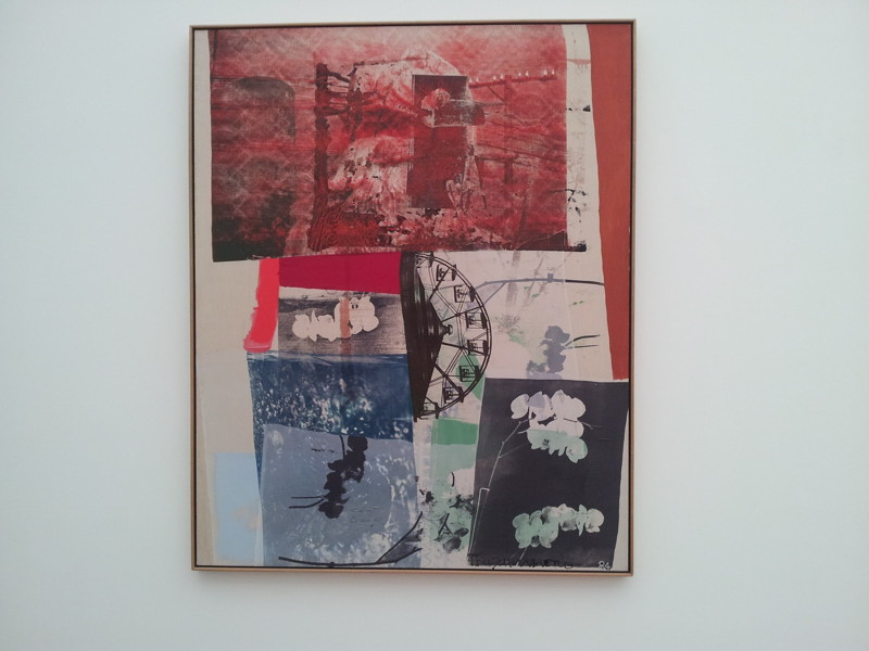 Robert Rauschenberg-Robert Rauschenberg - Red China, Green House-1984