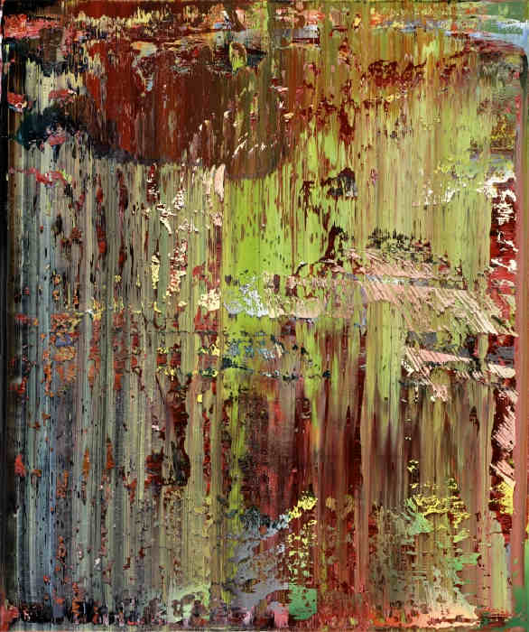 Gerhard Richter-Abstraktes Bild 679-2 (Abstract Painting 679-2)-1988