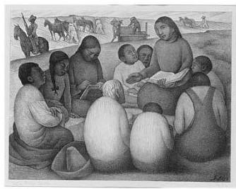 Diego Rivera-Open Air School-1932