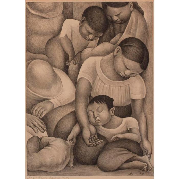 Diego Rivera-Sleep-1932