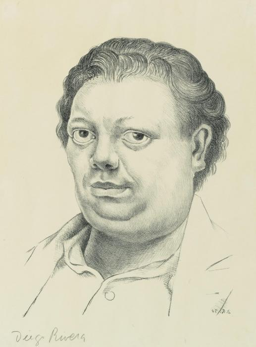 Diego Rivera-Self-Portrait-1930
