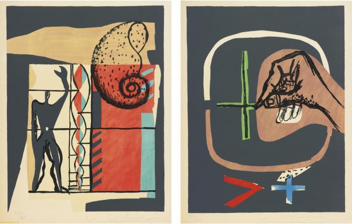 Le Corbusier-Le Poeme de l'Angle Droit-1955