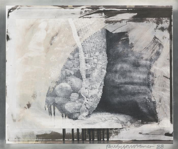 Robert Rauschenberg-Robert Rauschenberg - Sri Lanka Bags (From The Bleacher Series)-1988