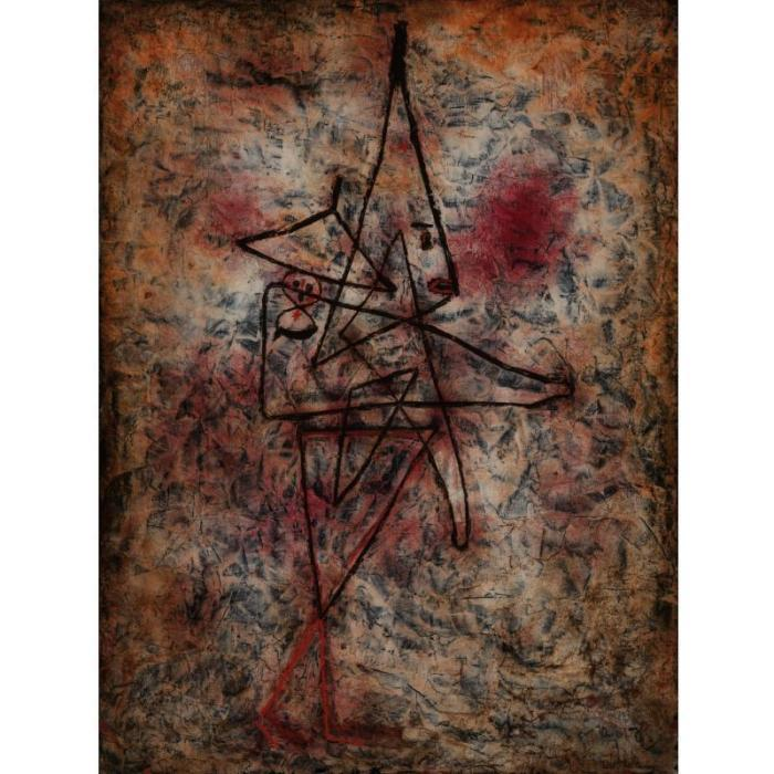 Paul Klee-Clown Mit Kind (Clown With A Child)-