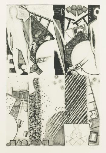 Jasper Johns-The Seasons, Four Seasons (Ulae 247)-1990