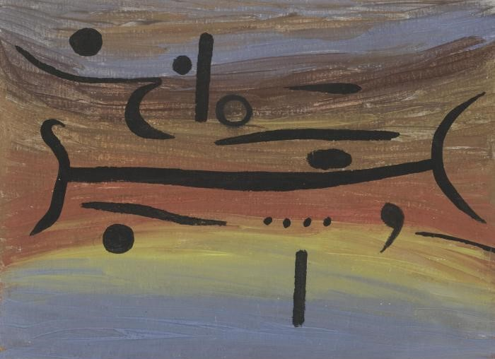 Paul Klee-Instrumente (instruments)-1938