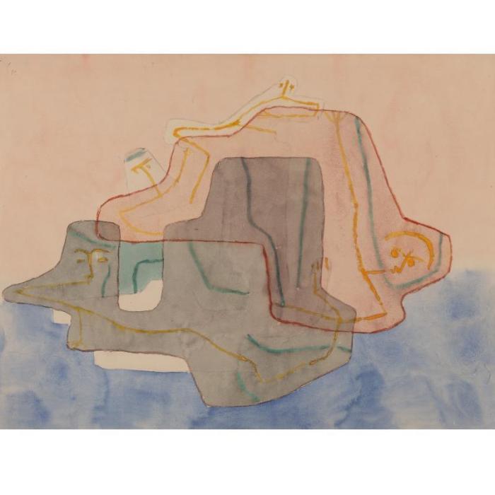 Paul Klee-Mythos Einder Insel (Myth Of An Island)-1930