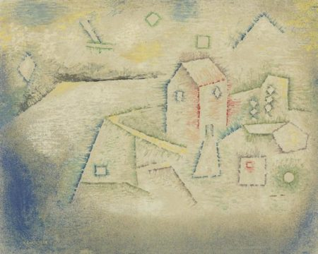Paul Klee-Landhaus In Norden (Country House In The North)-1925