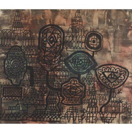 Paul Klee-Geschmiedetes Stilleben (Forged Still Life)-1935