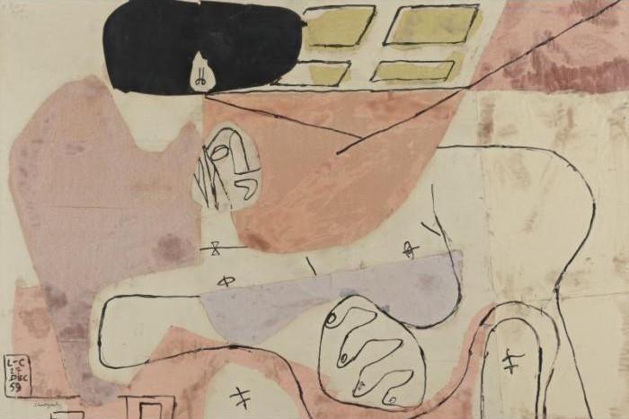 Le Corbusier-Femme-1959