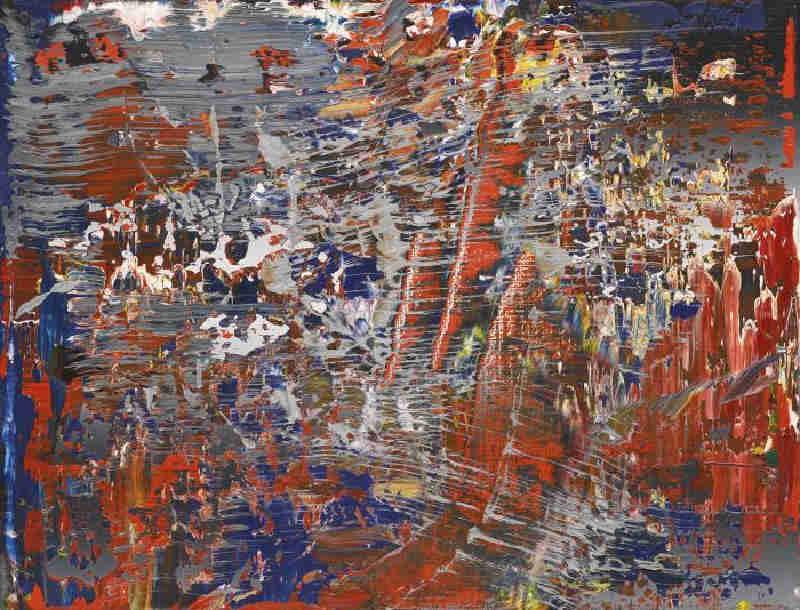 Gerhard Richter-Abstraktes Bild 686-2 (Abstract Painting 686-2)-1988