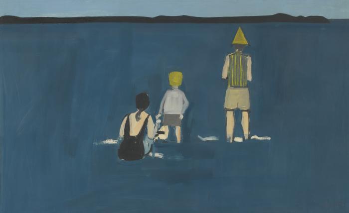 Alex Katz-Untitled-1960