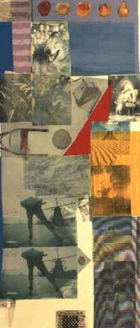 Robert Rauschenberg-Robert Rauschenberg - Blue Pike-1979