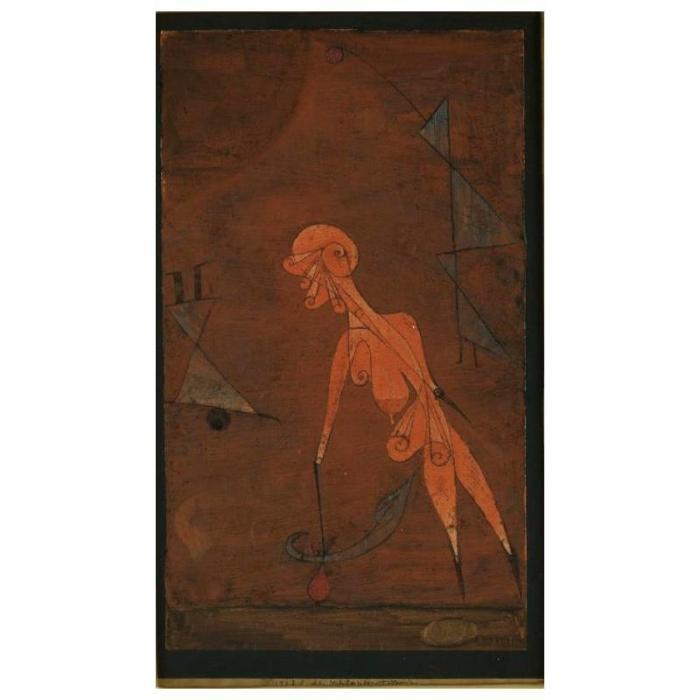 Paul Klee-Schlangen-Toterin-1923