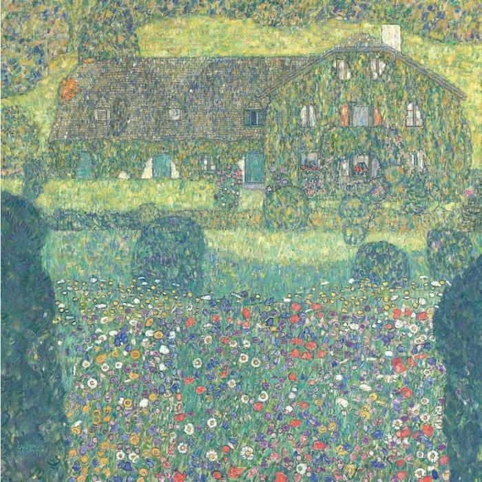 Gustav Klimt-Landhaus am Attersee-1914
