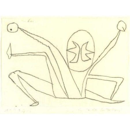 Paul Klee-Im Zeichen Der Teilung (Under The Sign of Division)-1940