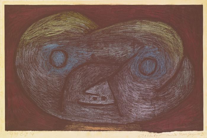 Paul Klee-Geschopf Aus Der Moor Gegend D (Creature Of The Moorland D)-1939