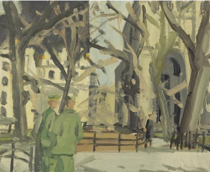 Alex Katz-Madison Square Park-1963