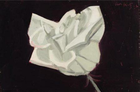Alex Katz-White Rose-1966