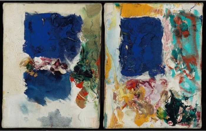 Joan Mitchell-Untitled: A Pair Of Paintings-